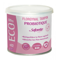 saforelle florgynal tampon probiotique 22 normal