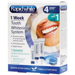 rapid white 1 week kit de blanchiment dentaire