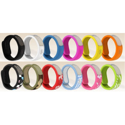 Parakito Bracelet Anti-Moustique Graffic Rouge
