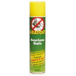 abatout laque anti-acariens et gale entretien 450 ml