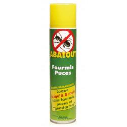 abatout laque anti-fourmis puces 405 ml