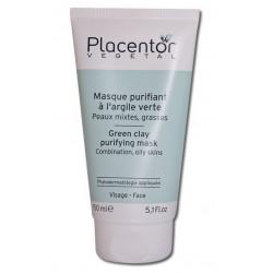 Placentor Vegetal Masque Purifiant à l'Argile Verte 150 ml
