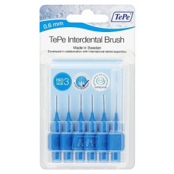 Tepe Interdental Brosse Interdentaire 0.6 mm