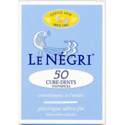 le négri 50 cure-dents plastique