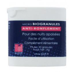 biorl pharma biogranules anti-ronflement 30 granules
