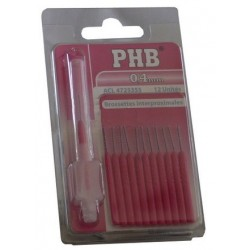 Phb 12 Brossettes Interdentaires 0.4 mm
