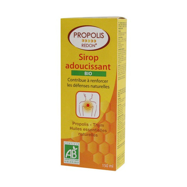 redon propolis sirop adoucissant bio 150 ml. Black Bedroom Furniture Sets. Home Design Ideas