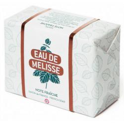 eau de mélisse savon note fraîche 100 g