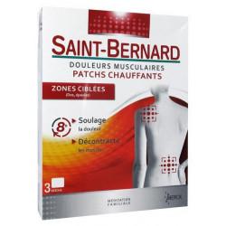 saint-bernard douleurs musculaires patchs chauffants zones ciblées