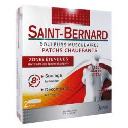 saint-bernard douleurs musculaires patchs chauffants zones étendues