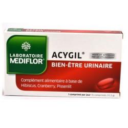 médiflor acygil bien être urinaire 15 comprimés