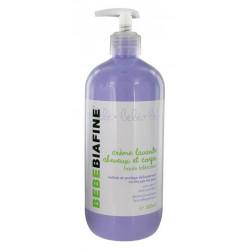 bebebiafine crème lavante cheveux et corps 500 ml