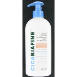 cicabiafine crème douche hydratante anti-irritations 400 ml