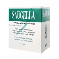saugella antiseptique naturel 10 lingettes intimes individuelles