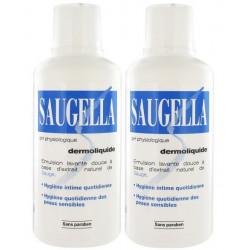 saugella dermoliquide 2 x 500 ml