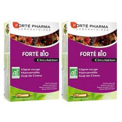 forté pharma forté bio circulation 2 x 20 ampoules