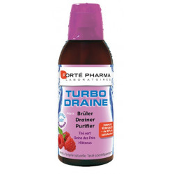 forté pharma turbodraine framboise 500 ml