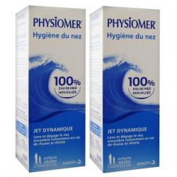 physiomer jet dynamique hygiène du nez 2 x 135 ml