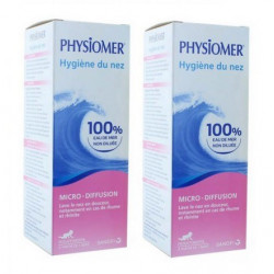 physiomer micro-diffusion hygiène du nez 2 x 115 ml