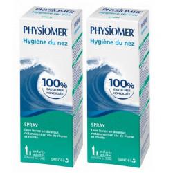 physiomer spray hygiène du nez 2 x 135 ml