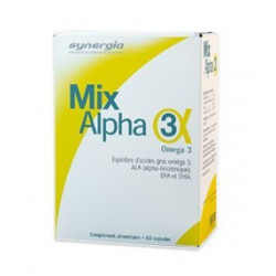 synergia mix-alpha 3 60 capsules