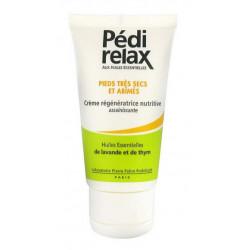pédi relax crème régénératrice nutritive pieds très secs et abîmés 50 ml