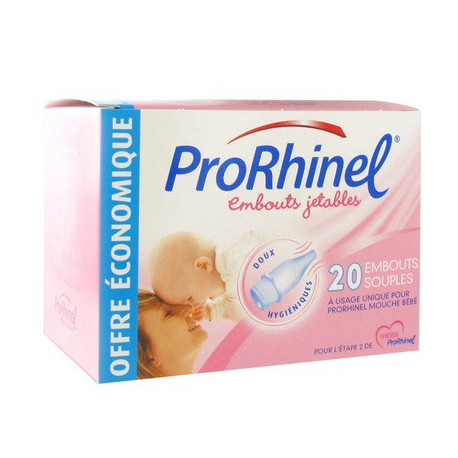 prorhinel 20 embouts jetables souples