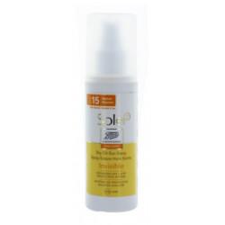 Solei Spray Solaire Huile Sèche Invisible SPF 15 125 ml