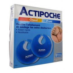 actipoche allaitement 2 compresses