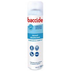 baccide aérosol désinfectant surfaces et habitat 250 ml