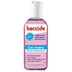 baccide gel mains sans rinçage amande douce 75 ml