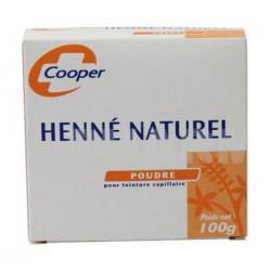 cooper henné naturel 100 g