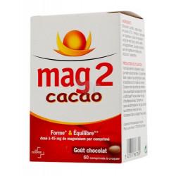 MAG 2 CACAO 60 COMPRIMÉS À CROQUER