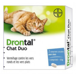 drontal chat duo 2 comprimés