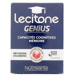 nutrisanté lecitone génius 45 gélules