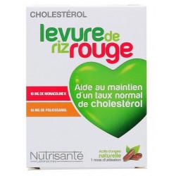 NUTRISANTÉ LEVURE DE RIZ ROUGE 90 GÉLULES
