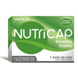 Nutrisanté Nutricap Kératine Vitalité 30 Capsules