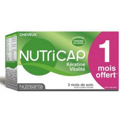 Nutrisanté Nutricap Kératine Vitalité 90 Capsules