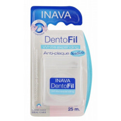 inava dentofil white expanding fil dentaire 25 m