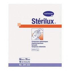 stérilux compresses ophtalmiques