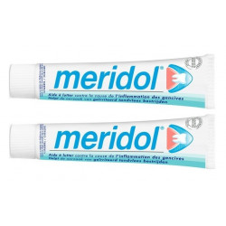 meridol dentifrice 2 x 75 ml