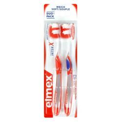 elmex brosse à dents souple x 2