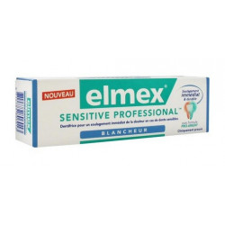 elmex sensitive professional blancheur dentifrice 75 ml