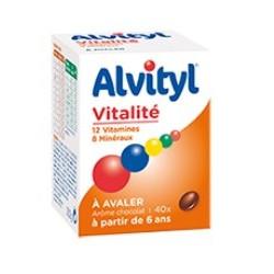 alvityl vitalité à avaler 40 comprimés