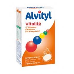 alvityl vitalité effervescent 30 comprimés