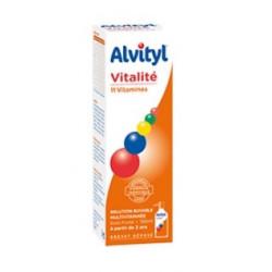 alvityl vitalité solution buvable multivitaminée 150 ml