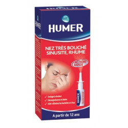 humer nez très bouché sinusite rhume 15 ml