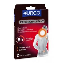 urgo patch chauffant décontractant 8h 2 patchs