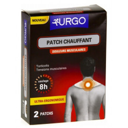 urgo patch chauffant douleurs musculaires 2 patchs