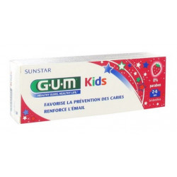 gum kids dentifrice 2-6 ans 50 ml